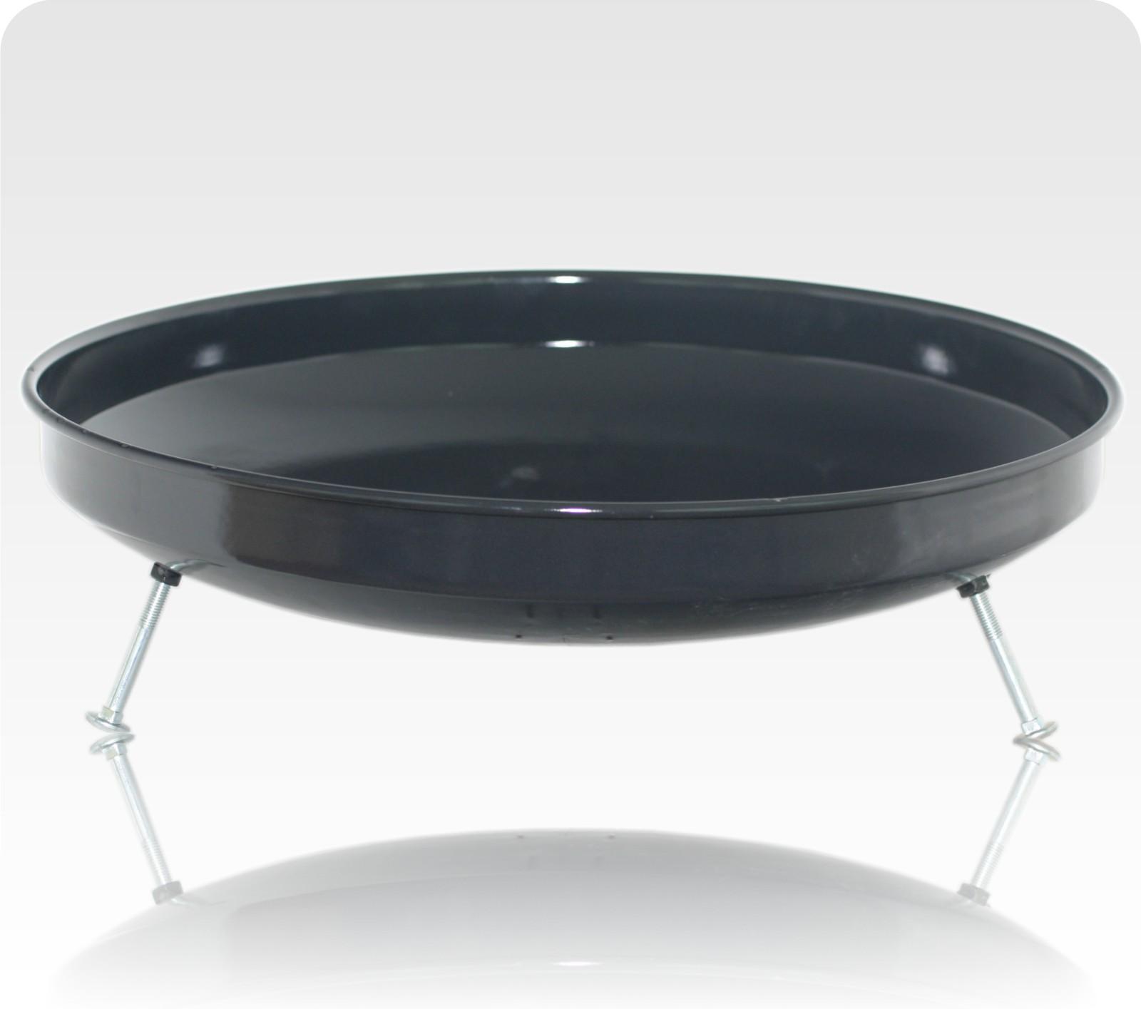 49 cm ungarische feuerschale gro f r gulaschkessel feuerstelle emailliert ebay. Black Bedroom Furniture Sets. Home Design Ideas